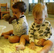 Juguem amb farina