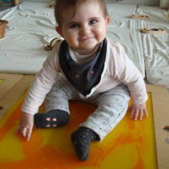 L'Aina ha descobert el camí sensorial