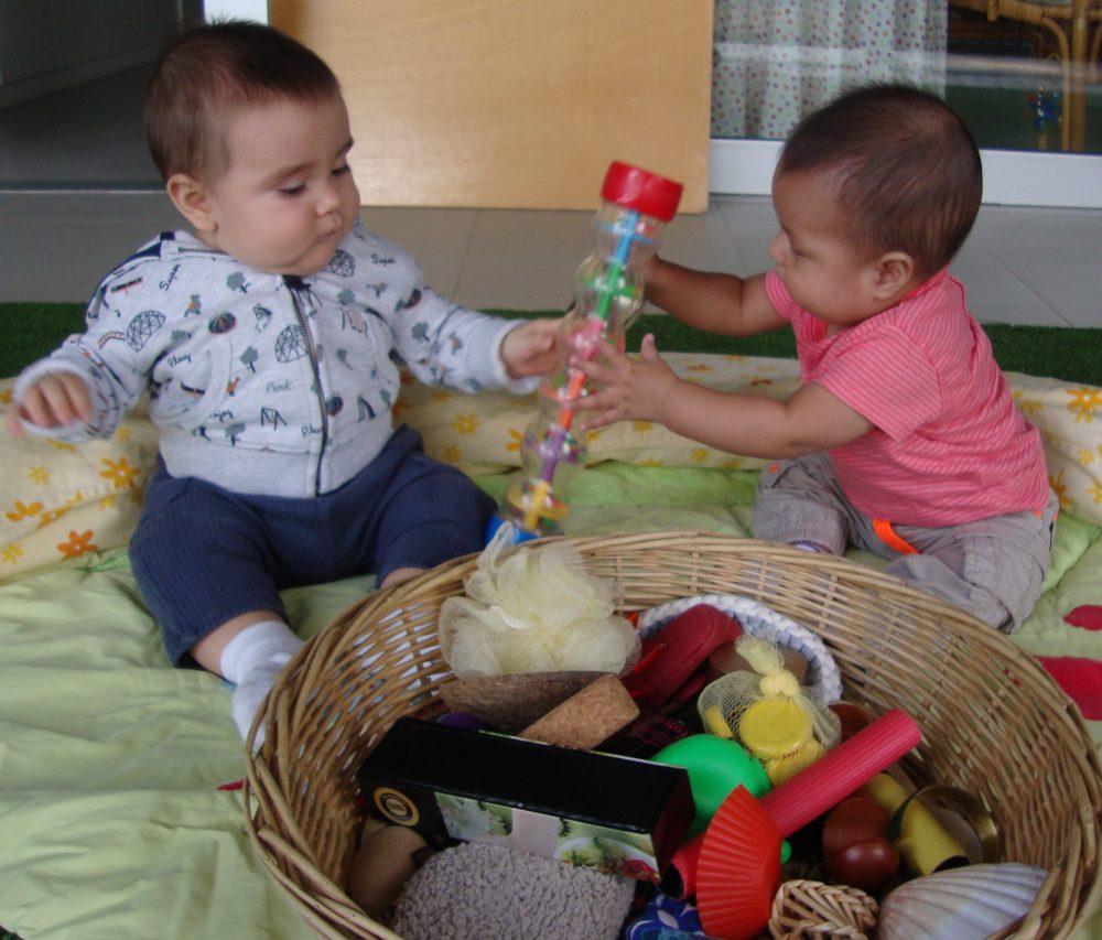 En Julen i en Biel volen la mateixa joguina