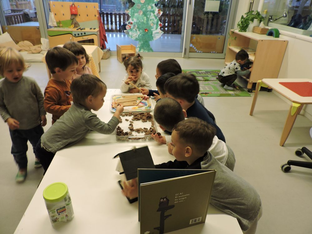 infants mengen galetes